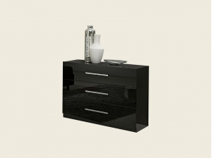Commode Liverpool noire