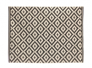 Tapis Anae anthracite 200 x150