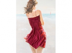 Tableau Red Dress