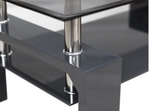 Table basse ATLANTA NOIR