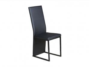 Lot de 4 chaises Jin's Noire