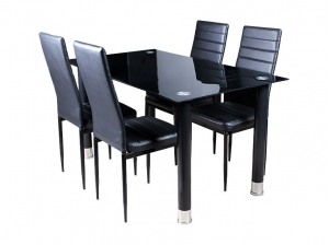 Ensemble table et 4 chaises AVATAR