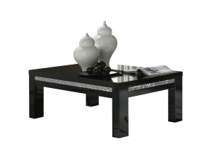 Table basse Roma Cromo noire