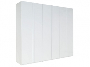 Armoire Italia blanche 6 portes