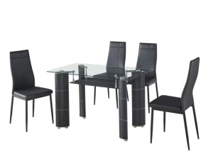 Ensemble table + 4 chaises ALIENS