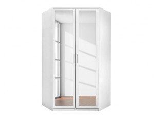 Armoire d'angle Clack blanc