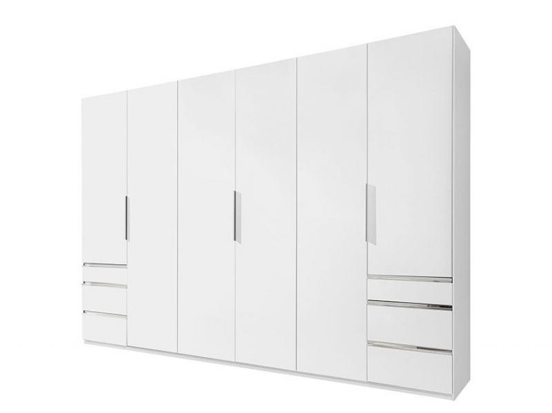 Armoire 6P Level Blanc