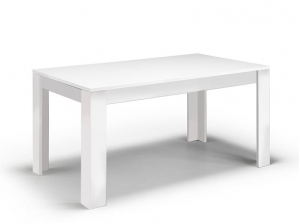 Table GRETA 160 blanc