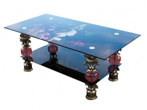 table basse bouquet