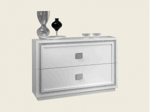 Commode Leeds blanche