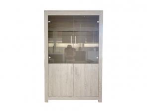 vitrine Jork chene blanchi