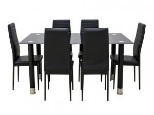 Ensemble table et 6 chaises AVATAR