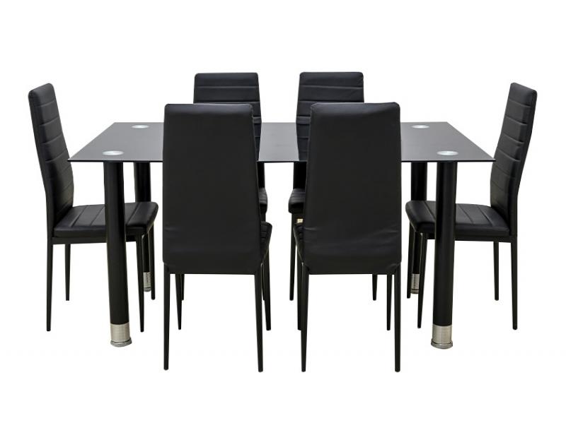 Ensemble table et 6 chaises AVATAR