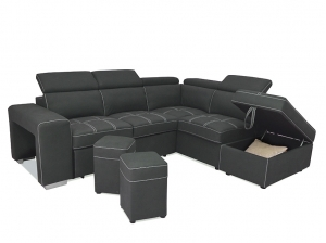 Canapé d'angle droit Fernando