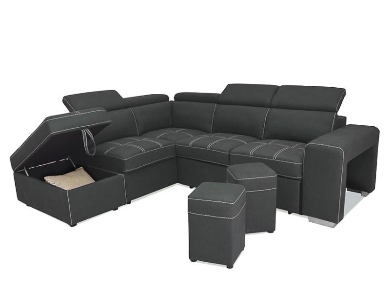 Canapé d'angle gauche Fernando
