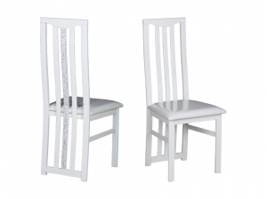 2 Chaises Newport blanches