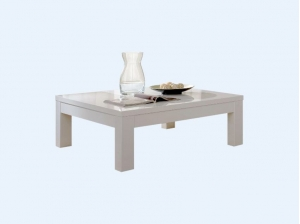 Table basse Indiana blanc
