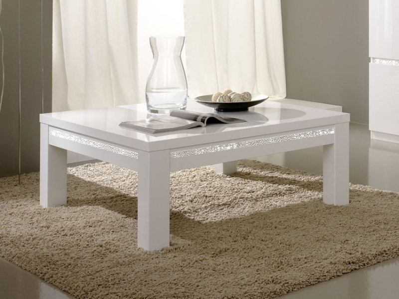 Table basse Newport blanche