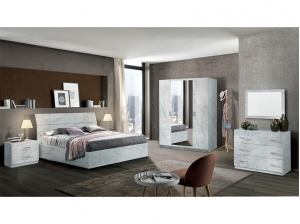 Chambre MARY blanc pierre