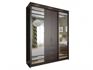 Armoire Mabel gris