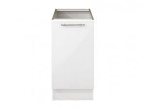Element bas 40 cm blanc