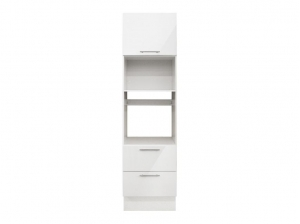 Colonne 60 cm four - blanc brillant