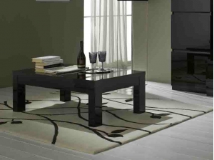 Table basse Indiana noire
