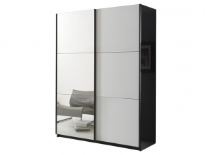 Armoire Jazzy 148 cm blanche