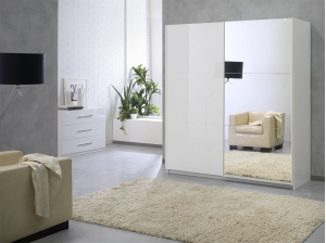 Armoire Jazzy 180 cm blanche