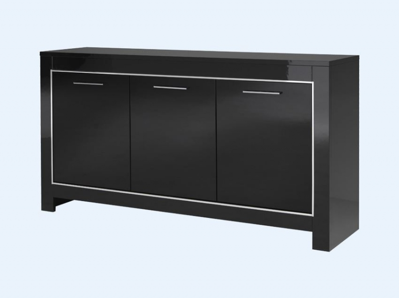 buffet 3 portes modena pas cher. Black Bedroom Furniture Sets. Home Design Ideas