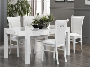 2 Chaises Athena blanches