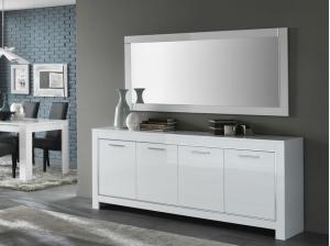 Miroir Modena blanc