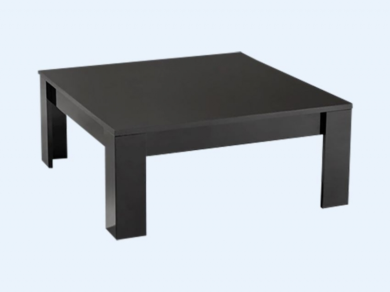 table basse carr e modena noire pas ch re. Black Bedroom Furniture Sets. Home Design Ideas